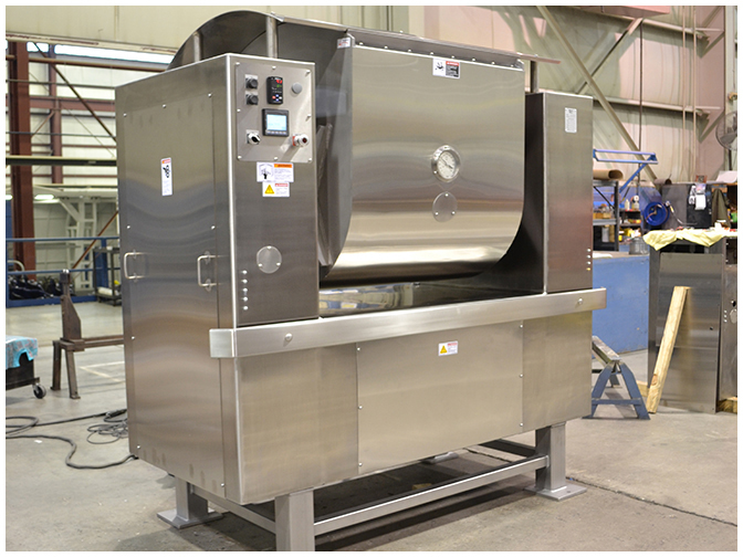 Magna Mixer produces Industrial & Commercial Slow & Semi-High Speed Mixers in OH